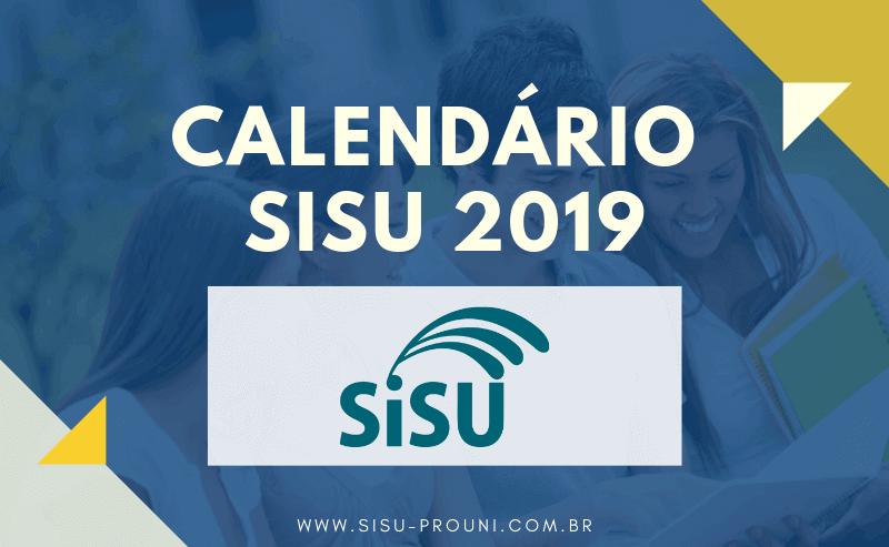 Calendário SISU